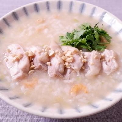鶏出汁が効いた 台湾風粥