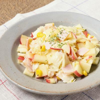 りんごとキャベツのサラダ
