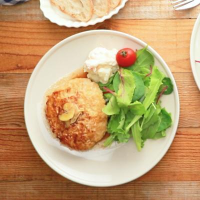 ご飯がすすむ ガリバタチキンハンバーグ