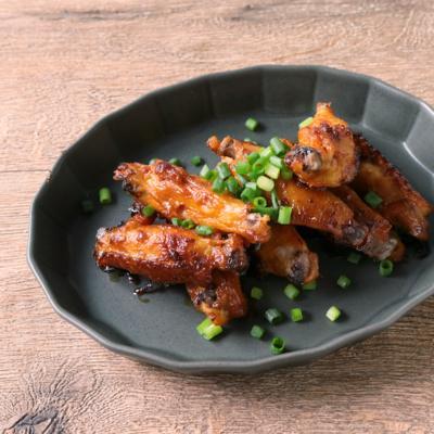 鶏手羽中の甘辛チキン