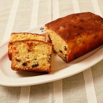 ドライフルーツのパウンドケーキ
