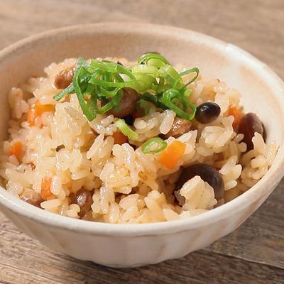 福豆の炊き込みご飯
