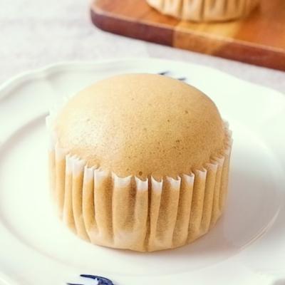 黒糖と豆乳の米粉蒸しパン
