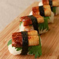 お弁当に ちくわ寿司おにぎり