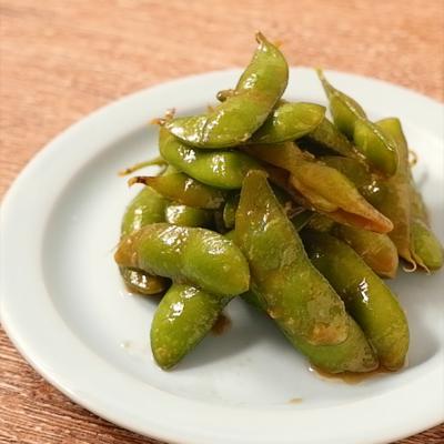枝豆のわさびポン酢漬け