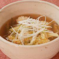 鶏団子の具だくさんスープ