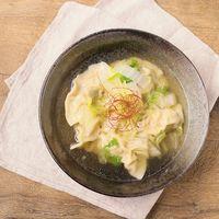 白菜たっぷり 餃子スープ