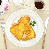 朝食にぴったり フレンチトースト
