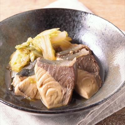 フライパンでつくる ぶり白菜