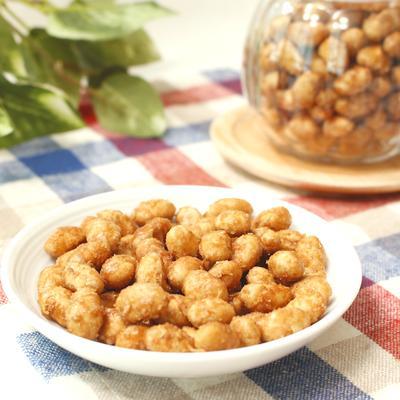 余った福豆で簡単おやつ!メープルシュガーナッツ風