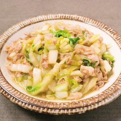 豚バラ肉と白菜のとろとろ煮