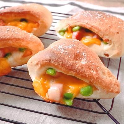 枝豆チェダーチーズパン