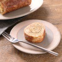 ホットケーキミックスと卵焼き器で簡単 紅茶のバウムクーヘン