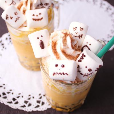 かぼちゃのひんやりスムージー