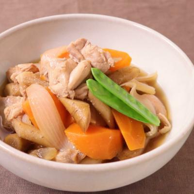 やさしい味わい鶏ごぼう煮