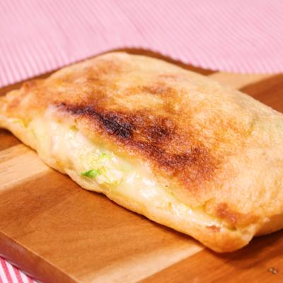 油揚げでピタパン!ベーコンチーズサンドグリル