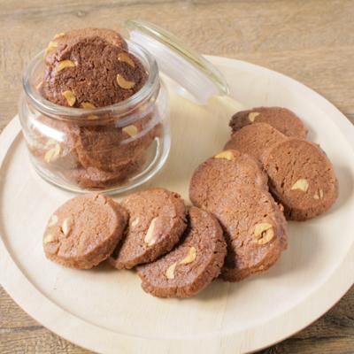 サクサク ココアナッツクッキー