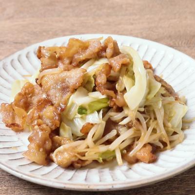 揚げ豚とシャキシャキ野菜の甘酢炒め