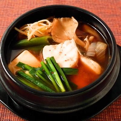 タラの旨味たっぷり テグタンスープ