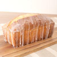 シンプル レモン香るパウンドケーキ