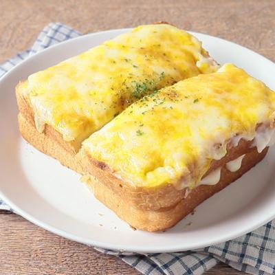 アボカドとハムチーズのクロックムッシュ