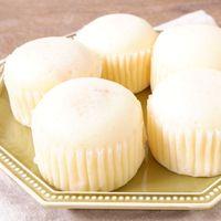 ホットケーキミックスで 明太チーズ蒸しパン