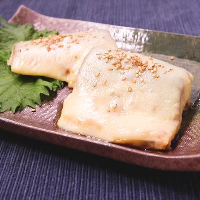 塩鯖のチーズ焼き