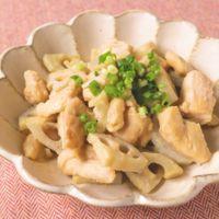 鶏むね肉の西京味噌炒め