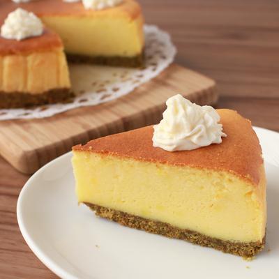 しっとりほっくり さつまいものチーズケーキ