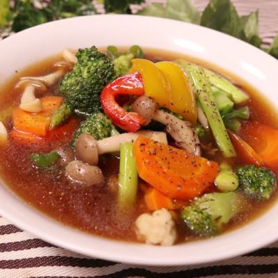 余り野菜で五目煮