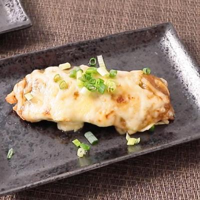 山椒香る 鮭の味噌チーズ焼き