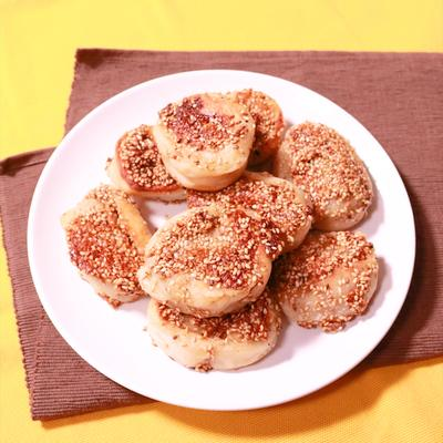カリモチ食感 くるくるナッツおやき