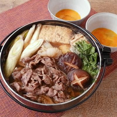 中華風味付けのすき焼き