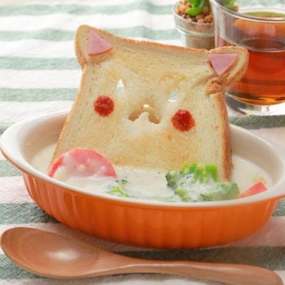 猫耳トースト