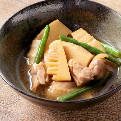 ほっこり たけのこと鶏肉の煮物