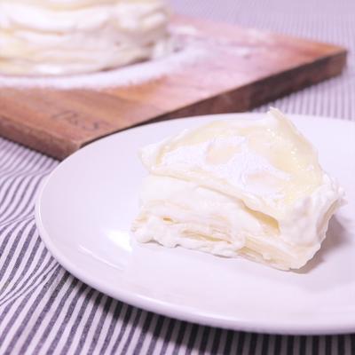 餃子の皮で作れる!簡単ミルクレープ