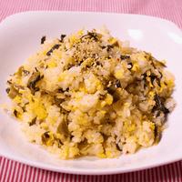 シンプルに!マヨ香る高菜チャーハン