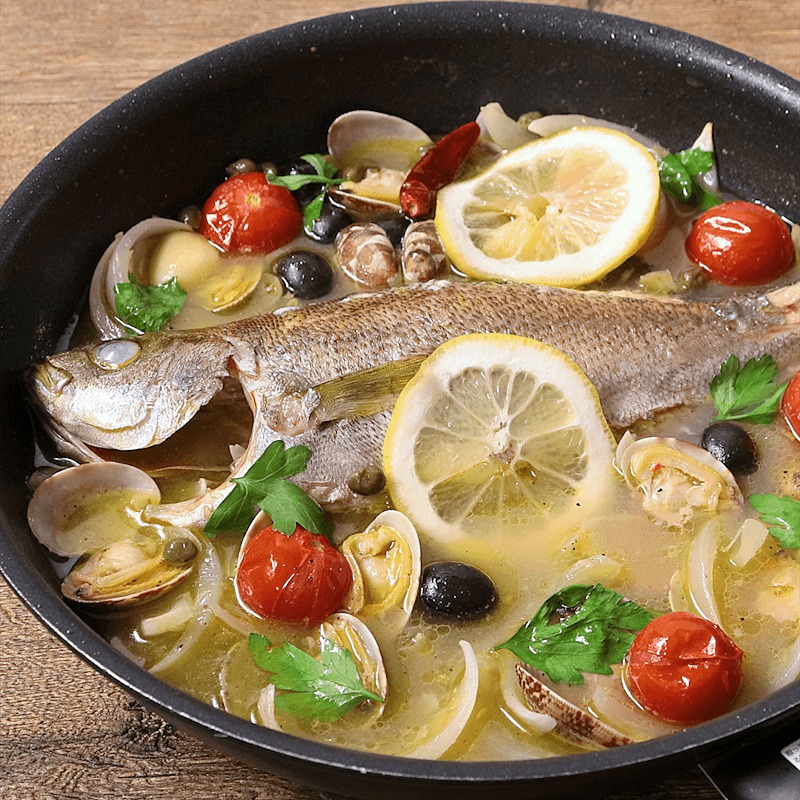 アクアパッツァ オーブン レシピ