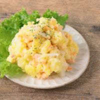 レンジで簡単 鮭とクリームチーズのポテトサラダ
