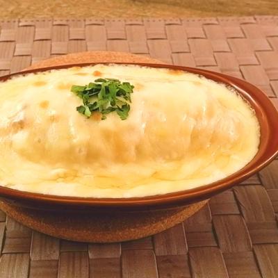 チーズたっぷり オムライスグラタン