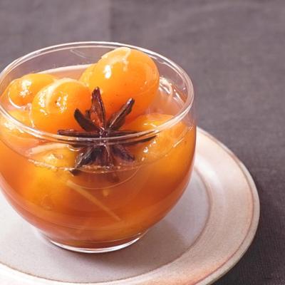 金柑のスパイシーシロップ煮