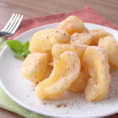フライパンで作る りんごのフリッター
