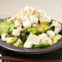 レタス大量消費 韓国風サラダ