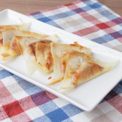 春巻きの皮で 納豆キムチーズの一口おつまみ
