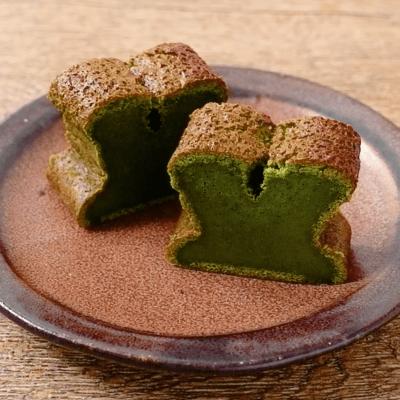 抹茶の生チョコケーキ