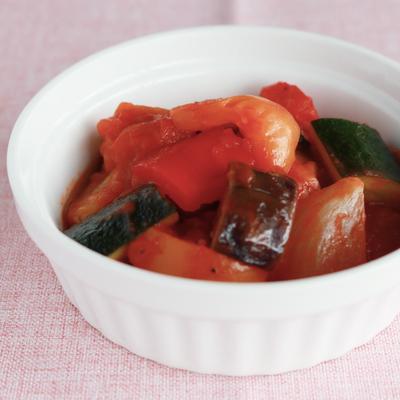 お手軽 カラフル野菜のラタトゥイユ
