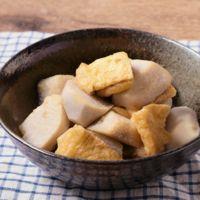 里芋と油揚げの簡単煮物