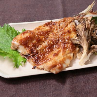 アジ梅肉味噌焼き