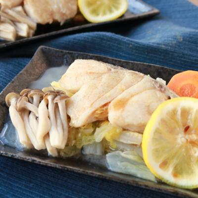 タラと白菜のレンジ蒸し