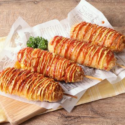 韓国風 チェダーチーズアメリカンドッグ